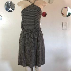 Everly Halter Top Dress Medium NWT